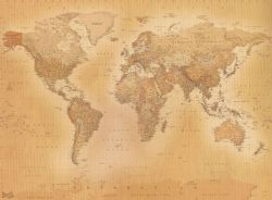 Small Of World Map Wallpaper